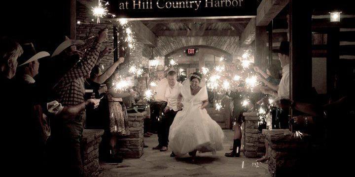 The Harbor on Possum Kingdom Lake wedding Fort Worth