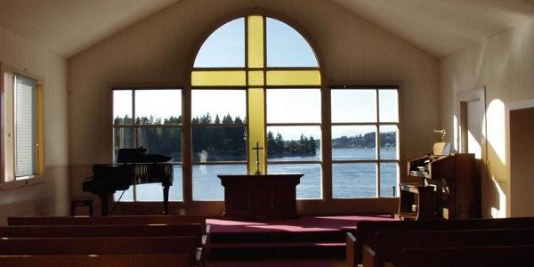 The Chapel on Echo Bay wedding Tacoma