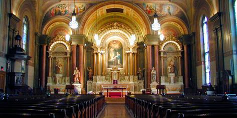 Old St. Mary's Church wedding Cincinnati