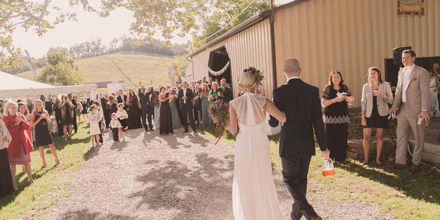 Neltner's Farm wedding Lexington