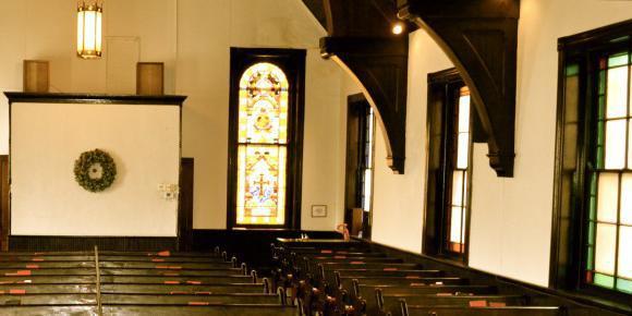 Mount Adams Pilgrim Chapel wedding Cincinnati