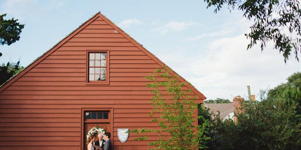 Beaufort Historic Site wedding Outer Banks