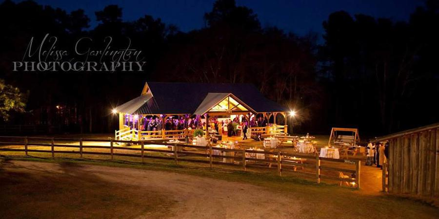 The Barn at Sanderlin Horse Farm wedding Atlanta