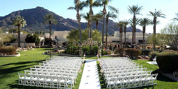 JW Marriott Scottsdale Camelback Inn Resort & Spa wedding Phoenix/Scottsdale