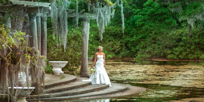 Airlie Gardens wedding Wilmington