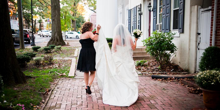 The Haddon Fortnightly wedding Central Jersey