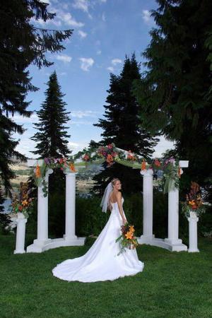 Ohme Gardens wedding Yakima
