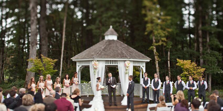 Camas Meadows Golf Club wedding Portland