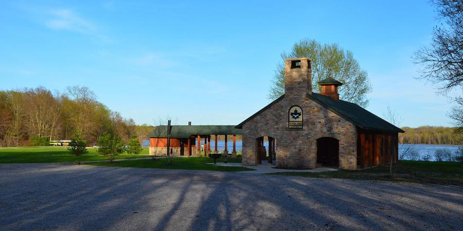 Bass Lake Lodge, Geauga Park District wedding Cleveland