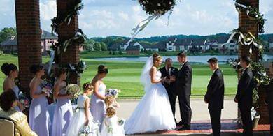 Roses Run Country Club wedding Cleveland