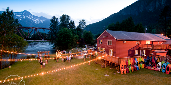The River House wedding Everett