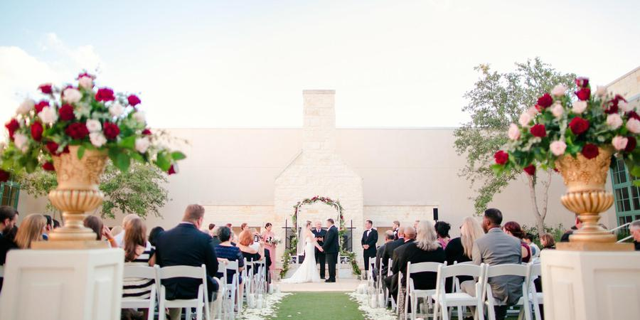 Hyatt Regency Hill Country Resort and Spa wedding San Antonio