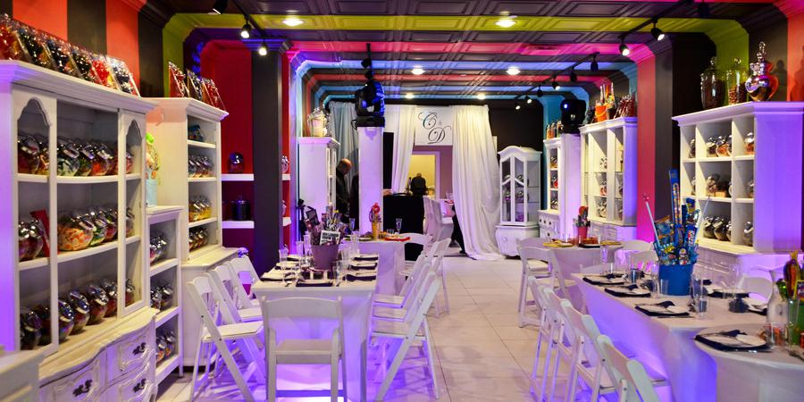 Coco Le Vu Candy Shop & Event Space wedding Manhattan