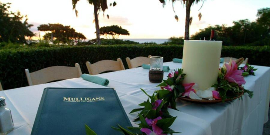 Mulligans on the Blue wedding Maui