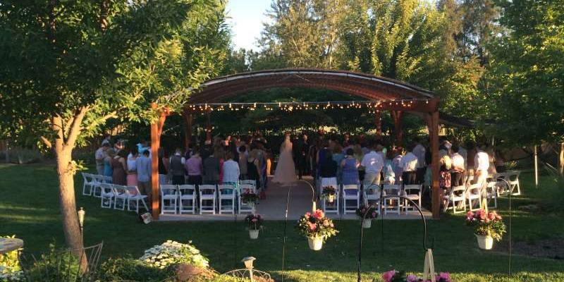Creekstone Gardens wedding Yakima