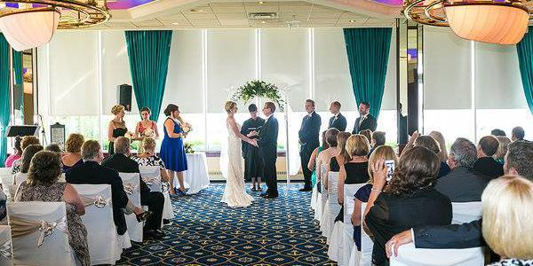 MacRay Harbor Banquets & Events Center wedding Detroit