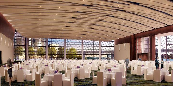 Cobo Center wedding Detroit
