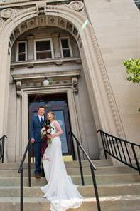 Carnegie Hall of Newport wedding Lexington