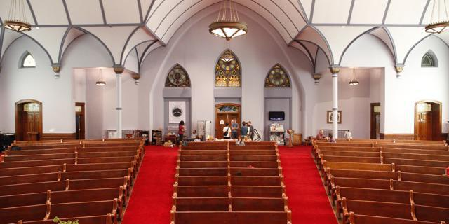 The United Church of Granville wedding Columbus