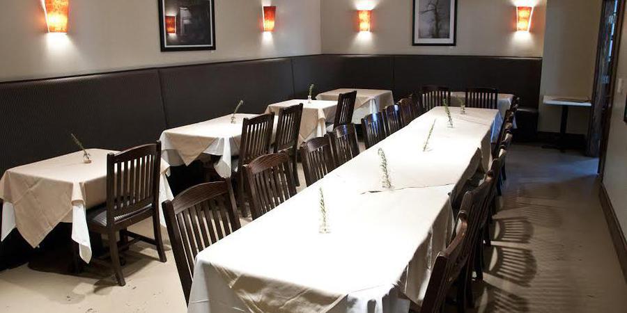Meridian Restaurant wedding Greensboro/Triad