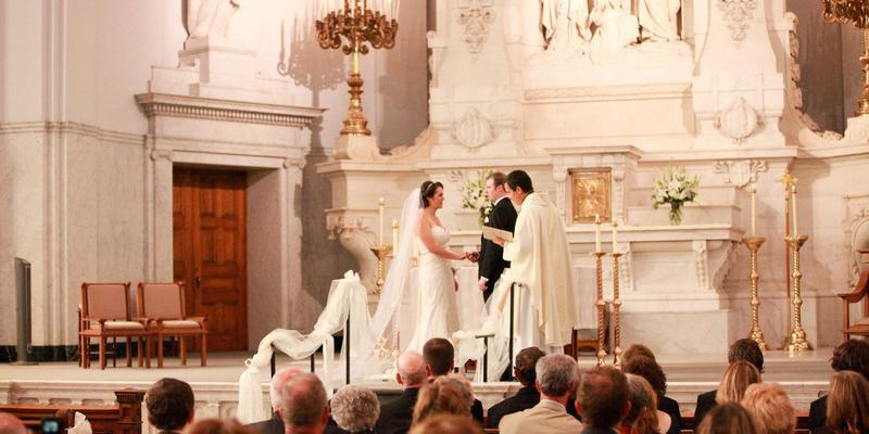 Saints Peter and Paul Jesuit Church wedding Detroit