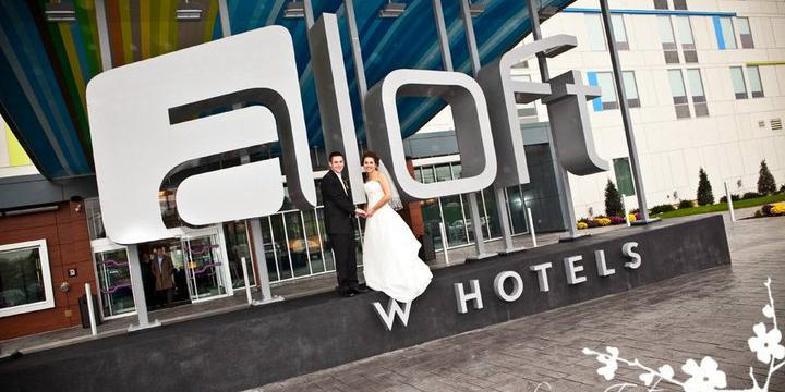 Aloft Mount Laurel wedding Central Jersey