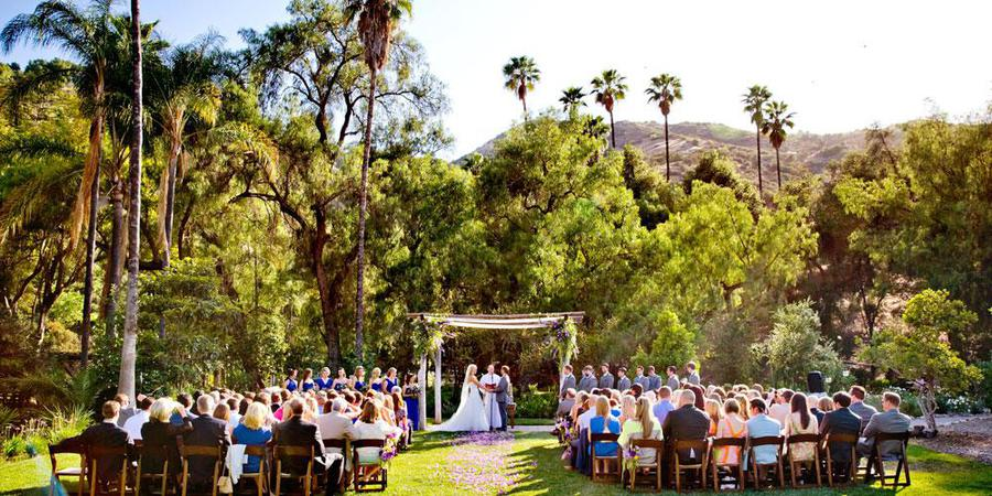 The Ranch at Bandy Canyon wedding San Diego