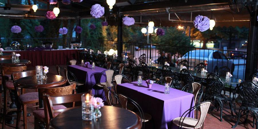 Cafe Intermezzo, Midtown wedding Atlanta