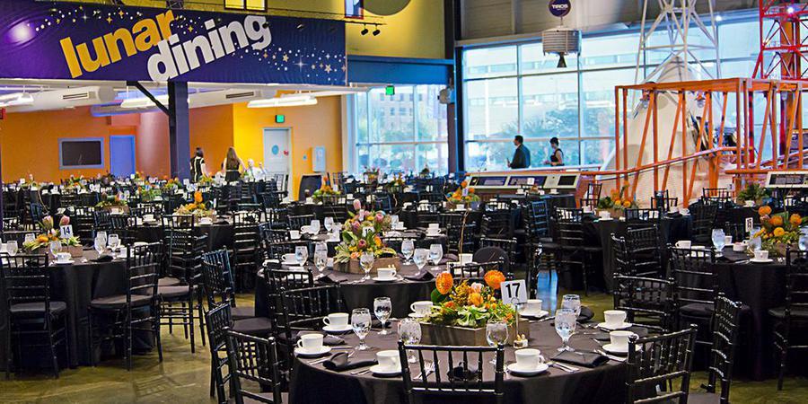 Michigan Science Center wedding Detroit