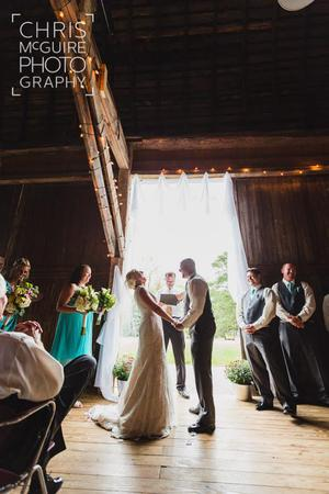 Hayloft Theatre wedding Kalamazoo