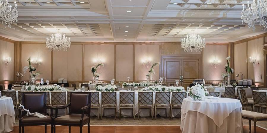 The Townsend Hotel wedding Detroit