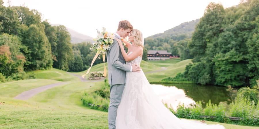 Laurel Ridge Country Club & Event Center wedding Asheville