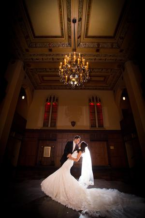 The Masonic Temple wedding Detroit