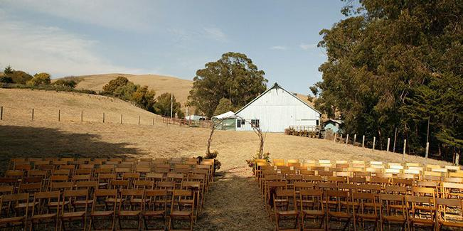 Swallow Creek Ranch wedding Central Coast