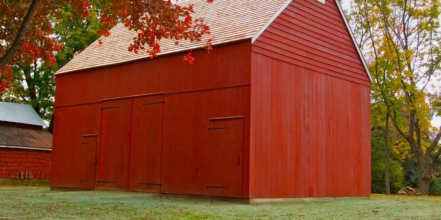 Parsonage Barn wedding Central Jersey