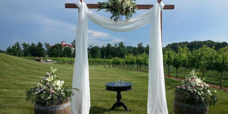 Childress Vineyards wedding Greensboro/Triad