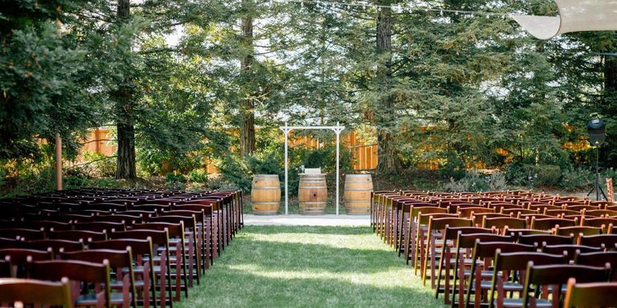 Fortino Winery & Event Center wedding South Bay