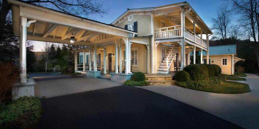 Piermont Cottage at Old Edwards Inn and Spa wedding Asheville