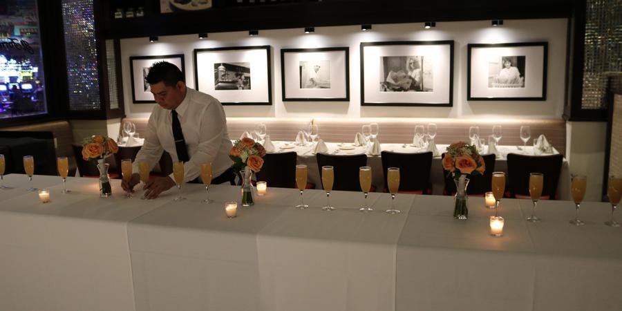 Il Fornaio wedding Las Vegas
