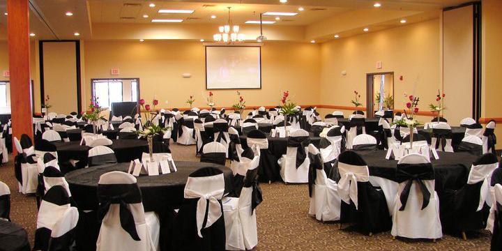 Ramada Tropics Resort & Conference Center wedding Des Moines