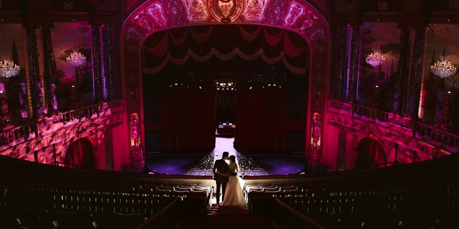 The Fillmore Detroit wedding Detroit