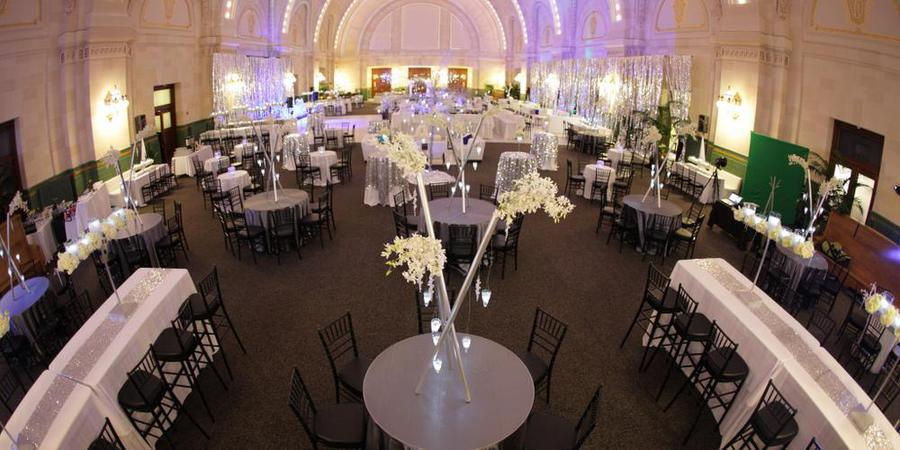 The Great Hall at Union Station wedding Seattle