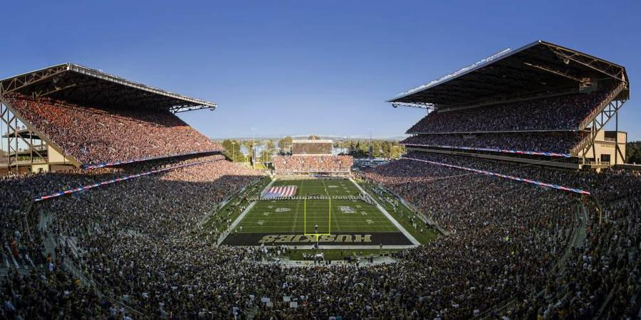 Husky Stadium wedding Seattle