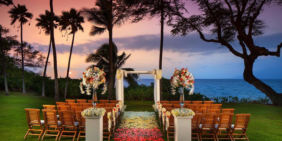 Andaz Maui at Wailea wedding Maui
