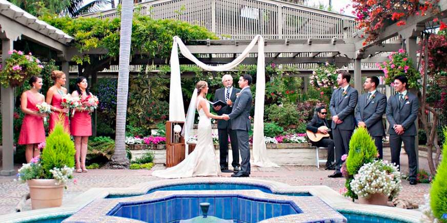 Sherman Library & Gardens wedding Orange County