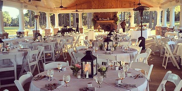 Gates Four Golf & Country Club wedding Wilmington
