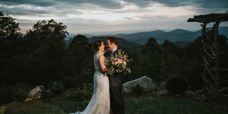 The Cabin Ridge wedding Asheville