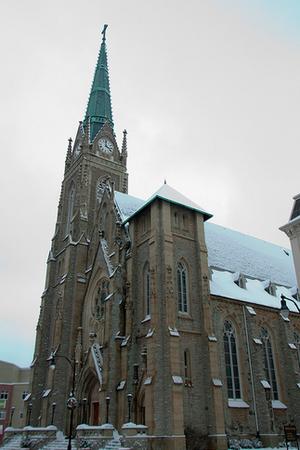 St. Francis de Sales Parish wedding Cincinnati