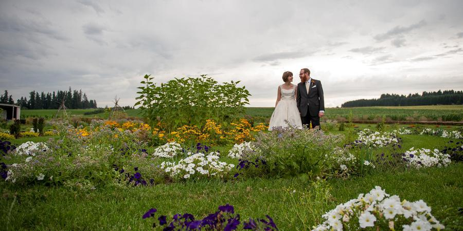 The Robert Newell House wedding Portland