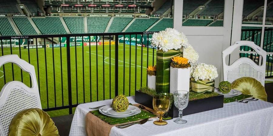 Providence Park wedding Portland